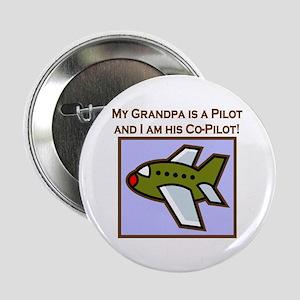 Grandpa's Co-Pilot Airplane Button