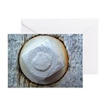 Weathered Bolt in Gate Greeting Cards (6)