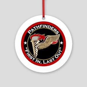 Pathfinders motto Ornament (Round)