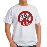Peace is the word Light T-Shirt