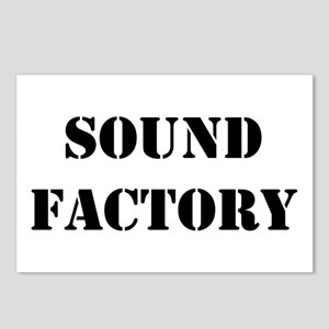 Sound Factory Postcards (Package of 8)