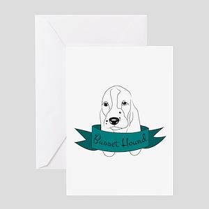 Basset Hound Greeting Cards