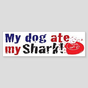 Dogshark Bumper Sticker