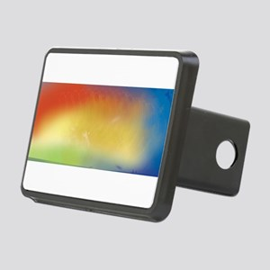 Color fade Rectangular Hitch Cover