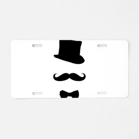 Gentlemen Aluminum License Plate