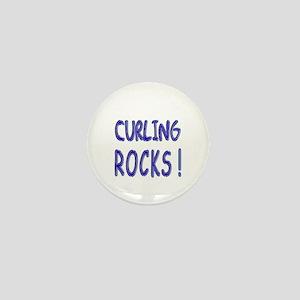 Curling Rocks ! Mini Button