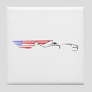 Formula 1 USA Tile Coaster