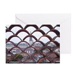 French Quarter Roof Tops Note Cards
