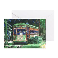 New Orleans Streetcar Note Cards