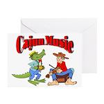 Cajun Music Cards