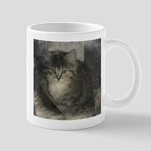 Kitten in the Shadows Mugs