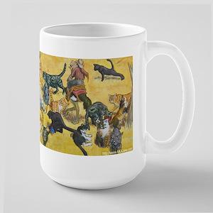 Large Herding Cats Mug