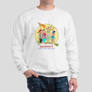 ADVENTURE-BOY SCOUTS II Sweatshirt
