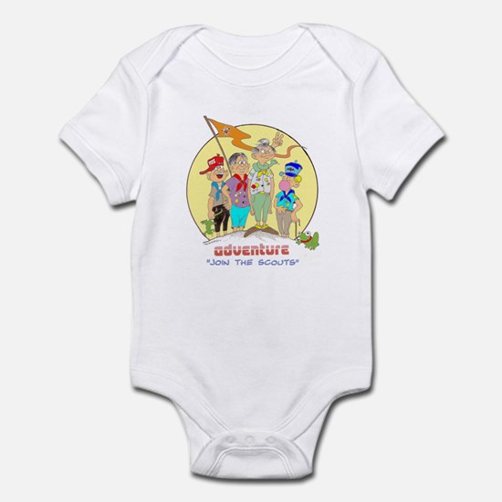 ADVENTURE-BOY SCOUTS II Infant Bodysuit