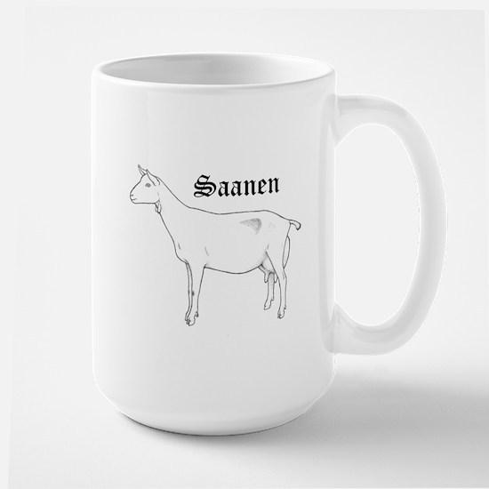 Saanen Dairy Goat Mugs