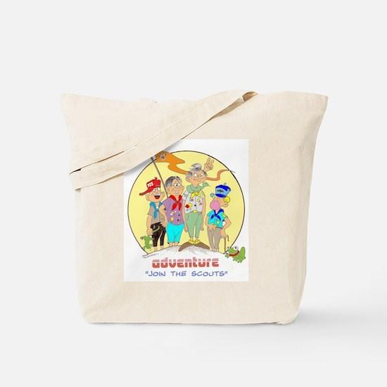 ADVENTURE-BOY SCOUTS II Tote Bag