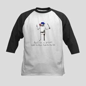 I'm a pirate! Kids Baseball Jersey