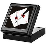 Cracked Aces Keepsake Box