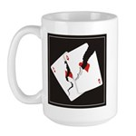 Cracked Aces Large Mug
