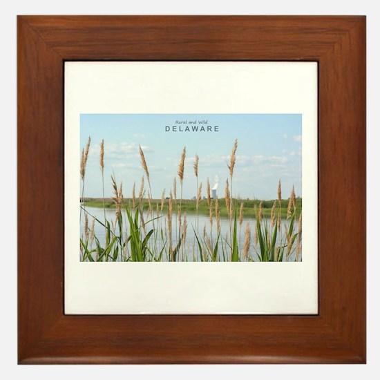 Rural Delaware. Framed Tile