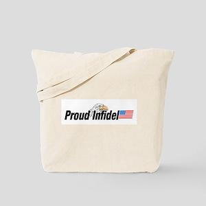 Proud Infidel Tote Bag