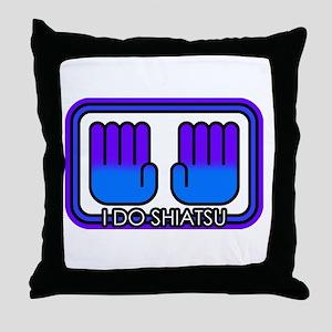 I Do Shiatsu Throw Pillow