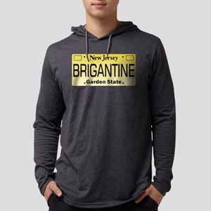 Brigantine NJ Tag Long Sleeve T-Shirt