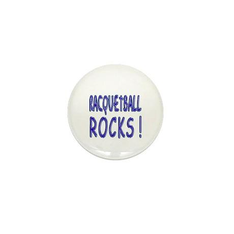 Racquetball Rocks ! Mini Button (100 pack)