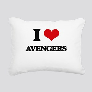 I love Avengers Rectangular Canvas Pillow