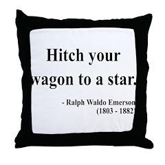 Ralph Waldo Emerson 1 Throw Pillow