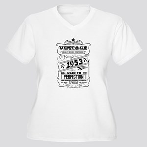 Vintage Aged To Perfection 1953 Plus Size T-Shirt