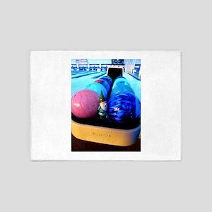 Bowling Gnome 5'x7'Area Rug