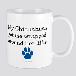 Wrapped Around Her Paw (Chihuahua) Mug
