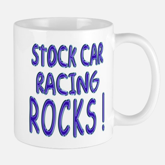Stock Car Racing Rocks ! Mug