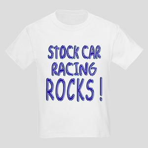 Stock Car Racing Rocks ! Kids Light T-Shirt