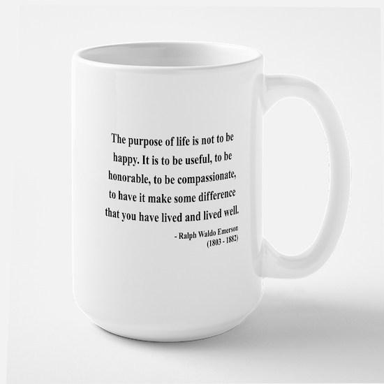 Ralph Waldo Emerson 17 Large Mug