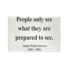 Ralph Waldo Emerson 20 Rectangle Magnet