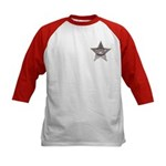 Sovereign Individual Badge on Kids Baseball Jersey
