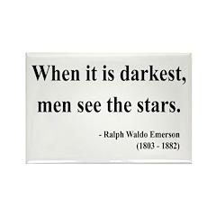 Ralph Waldo Emerson 25 Rectangle Magnet
