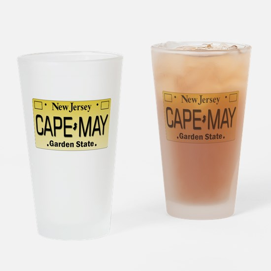 Cape_May_W_10x10.png Drinking Glass