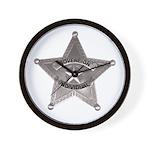 Sovereign Individual Badge on Wall Clock