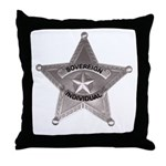 Sovereign Individual Badge on Throw Pillow