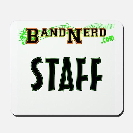 BandNerd.com Staff Mousepad