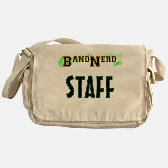 BandNerd.com Staff Messenger Bag