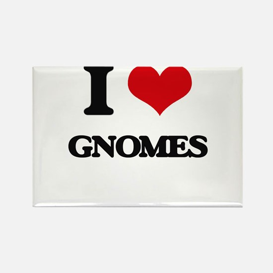 I love Gnomes Magnets