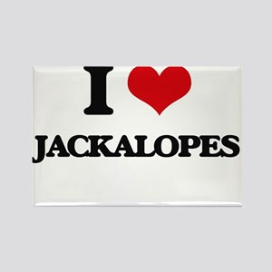 I love Jackalopes Magnets