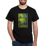 GAME CROP dark t-shirt
