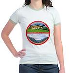 Peace in Switzerland Jr. Ringer T-Shirt