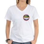 Peace in Switzerland Women's V-Neck T-Shirt