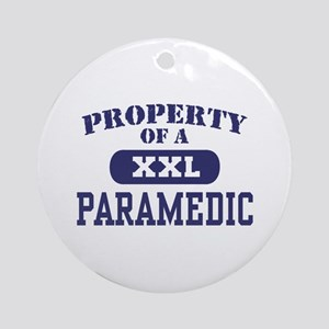 Property of a Paramedic Ornament (Round)